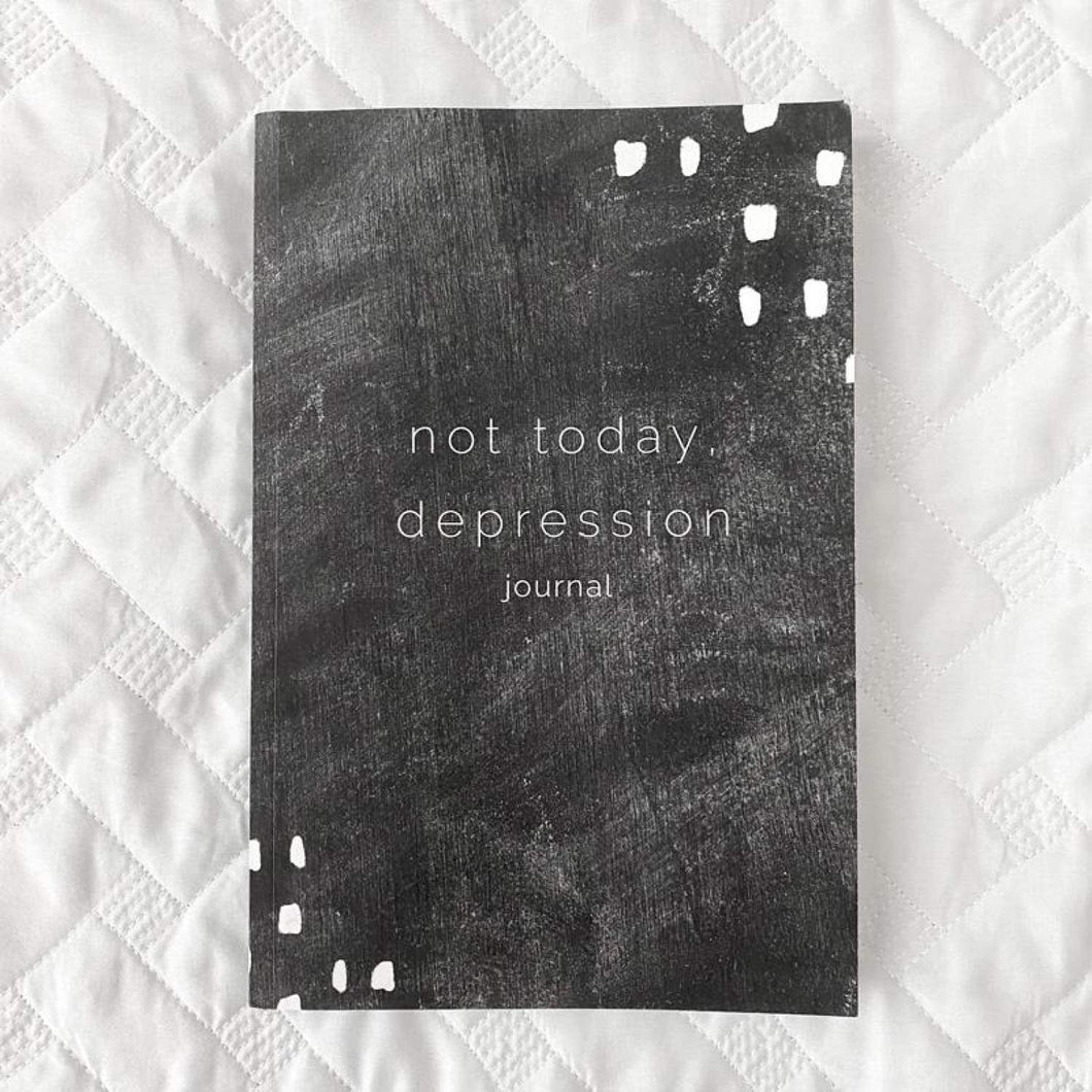 Not Today Depression Journal | Salted Brew Shop
