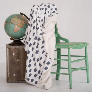 Spotty Dot - Sherpa Fleece Blanket - Home Decor