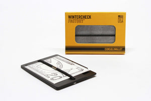 consoliwallet william wallet metal aluminum rfid