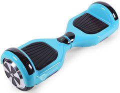 "Baby Blue 6.5"" Classic Disco LED Official Hoverboard"