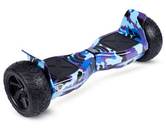 "Blue Camo 8.5"" Off Road Hummer Official Hoverboard"