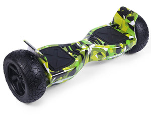"Green Vortex Camo Hoverkart Bundle 8.5"" Off Road Hummer Official Hoverboard - Official Hoverboard"