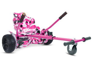 "Pink Vortex Camo Hoverkart Bundle 8.5"" Off Road Hummer Official Hoverboard - Official Hoverboard"