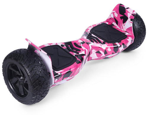 "Pink Vortex Camo 8.5"" Off Road Hummer Official Hoverboard - Official Hoverboard"