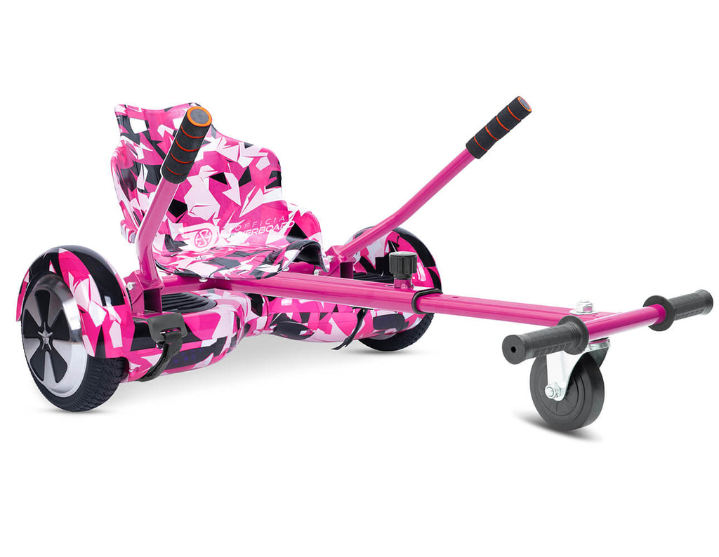 "Pink Vortex Camo Bundle 6.5"" Disco LED Official Hoverboard - Official Hoverboard"