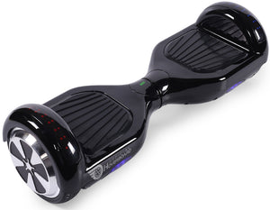 "Black 6.5"" Classic Disco LED Official Hoverboard - Official Hoverboard"