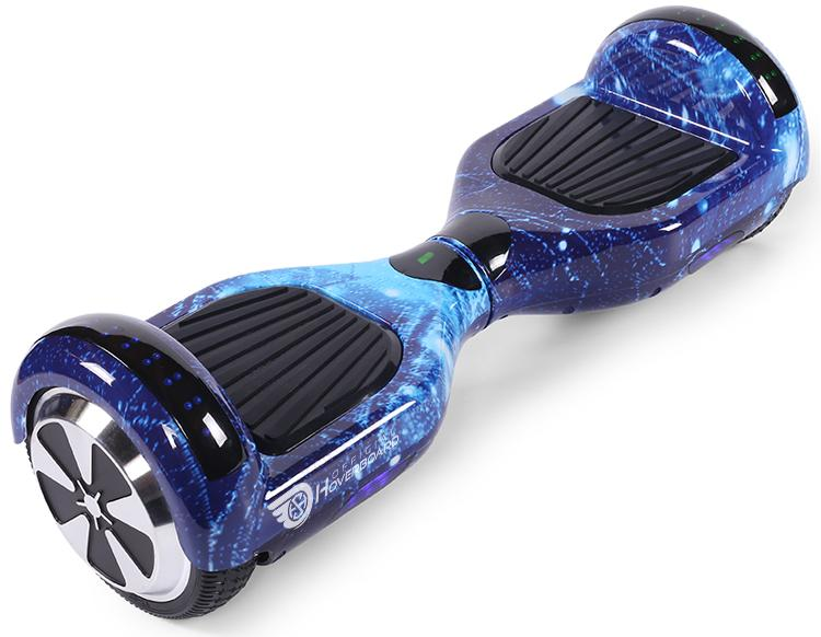 "Blue Galaxy Hoverkart Bundle 6.5"" Official Hoverboard - Official Hoverboard"