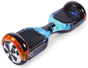 "Flame Special 6.5"" Disco LED Official Hoverboard - Official Hoverboard"