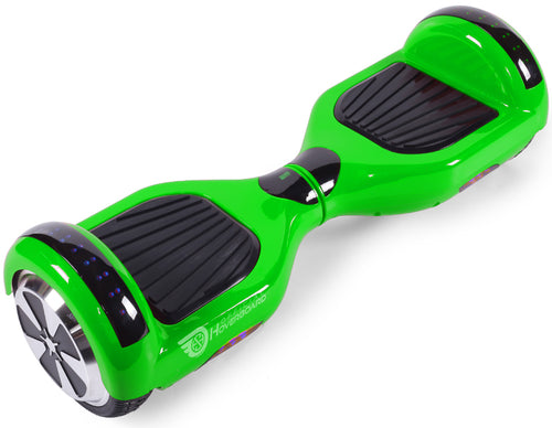 "Green 6.5"" Classic Disco LED Official Hoverboard - Official Hoverboard"
