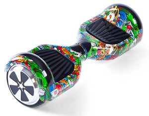 "Monsters 6.5"" Disco LED Official Hoverboard - Official Hoverboard"