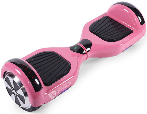 "Pink 6.5"" Classic Disco LED Official Hoverboard - Official Hoverboard"