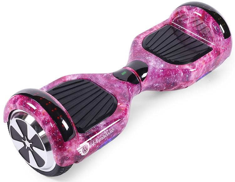 "Pink Galaxy Bundle 6.5"" Disco LED Official Hoverboard - Official Hoverboard"