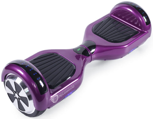 "Purple 6.5"" Classic Disco LED Official Hoverboard - Official Hoverboard"