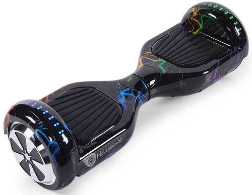 "Rainbow Lightning Special 6.5"" Disco LED Official Hoverboard - Official Hoverboard"