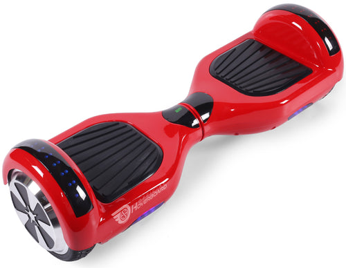 "Red 6.5"" Classic Disco LED Official Hoverboard - Official Hoverboard"