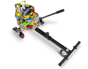 "Hip Hop Graffiti Hoverkart Bundle 8.5"" Off Road Hummer Official Hoverboard - Official Hoverboard"