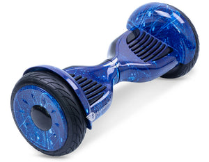 "Blue Galaxy 10"" All Terrain Official Hoverboard - Official Hoverboard"