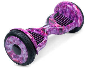 "Pink Galaxy 10"" All Terrain Official Hoverboard - Official Hoverboard"