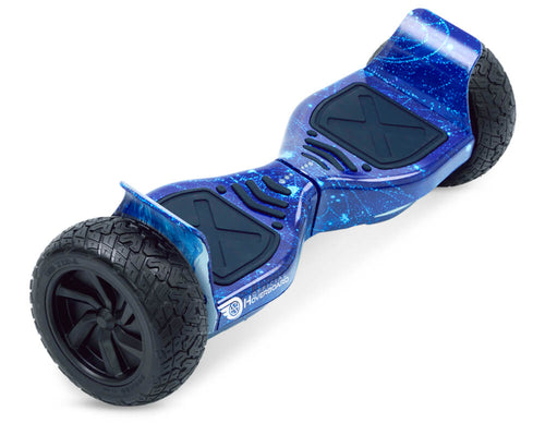 "Blue Galaxy 8.5"" Off Road Hummer Official Hoverboard - Official Hoverboard"