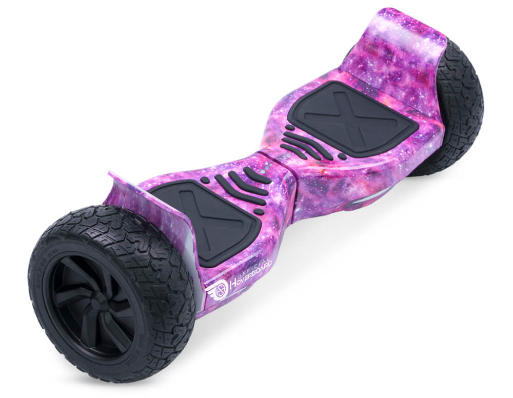 "Pink Galaxy Hoverkart Bundle 8.5"" Off Road Hummer Official Hoverboard - Official Hoverboard"