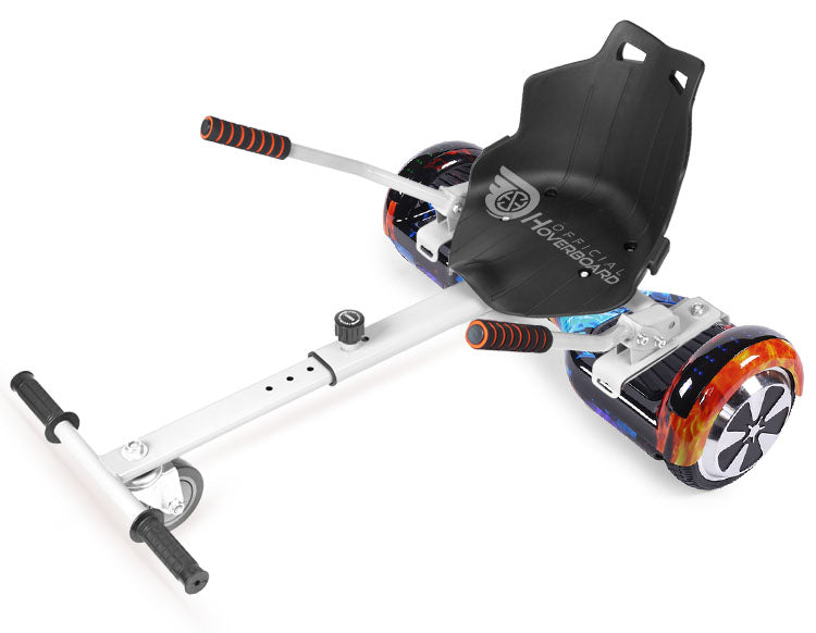 "Special Hoverkart Bundle 6.5"" Disco LED Official Hoverboard - Official Hoverboard"