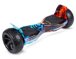 "Flame Hoverkart Bundle 8.5"" Off Road Hummer Official Hoverboard"