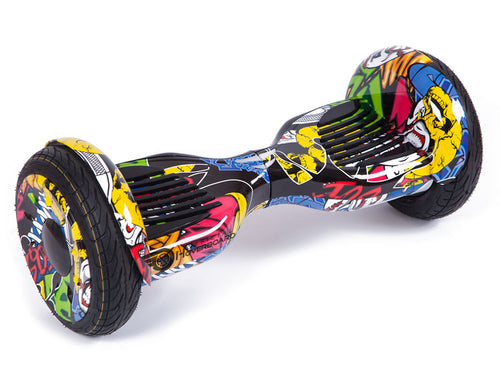 "Hip Hop Graffiti 10"" All Terrain Official Hoverboard - Official Hoverboard"