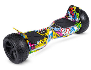 "Hip Hop Graffiti 8.5"" Off Road Hummer Official Hoverboard - Official Hoverboard"