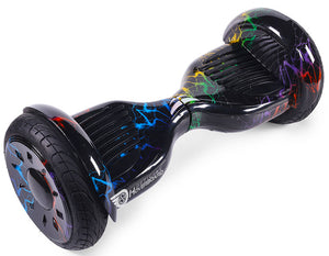 "Rainbow Lightning 10"" All Terrain Official Hoverboard - Official Hoverboard"