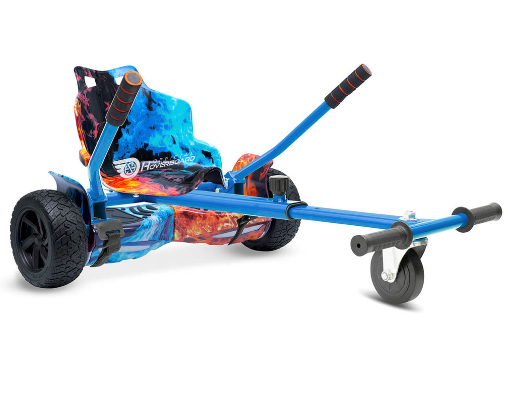 "Flame Hoverkart Bundle 8.5"" Off Road Hummer Official Hoverboard - Official Hoverboard"