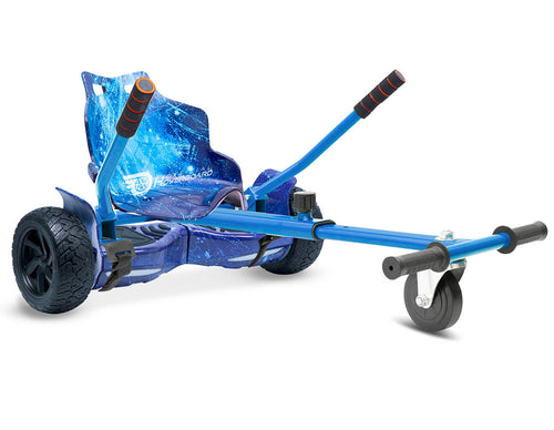 Blue Galaxy Hoverkart Bundle 8.5