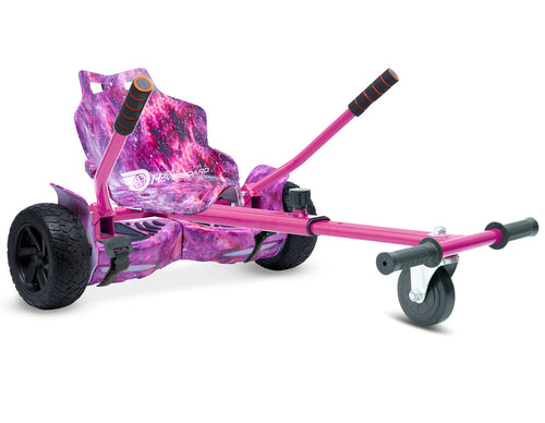 Pink Galaxy Hoverkart Bundle 8.5