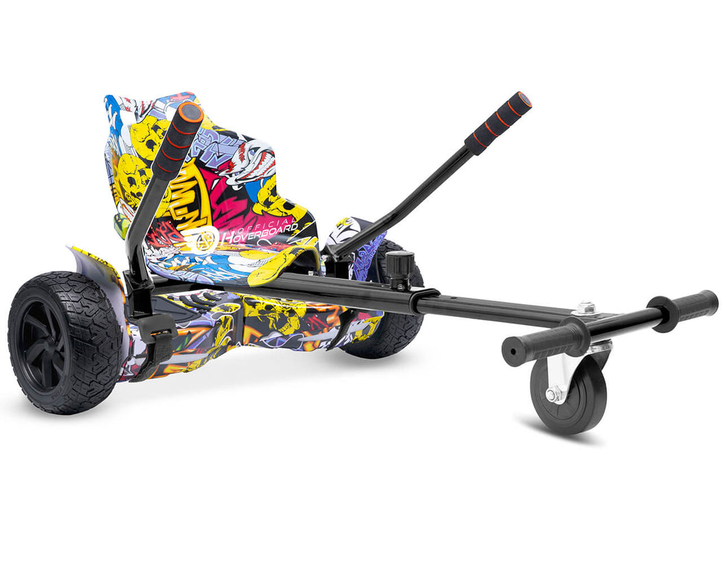 Hip Hop Graffiti Hoverkart Bundle 8.5
