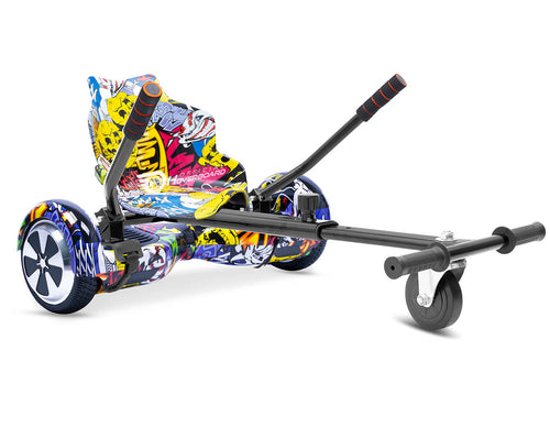 "Hip Hop Graffiti Hoverkart Bundle 6.5"" Disco LED Official Hoverboard - Official Hoverboard"