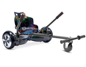 "Rainbow Lightning Hoverkart Bundle 6.5"" Disco LED Official Hoverboard - Official Hoverboard"