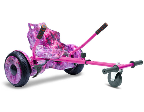 "Pink Galaxy Hoverkart Bundle 10"" All Terrain Official Hoverboard - Official Hoverboard"
