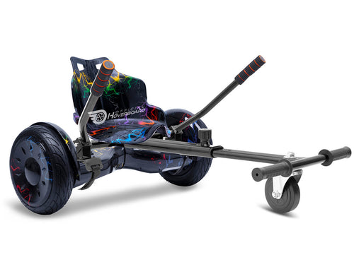 "Rainbow Lightning Hoverkart Bundle 10"" All Terrain Official Hoverboard - Official Hoverboard"