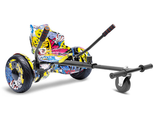 "Hip Hop Graffiti Hoverkart Bundle 10"" All Terrain Official Hoverboard - Official Hoverboard"