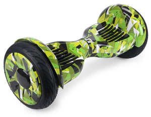 "Green Vortex Camo 10"" All Terrain Official Hoverboard - Official Hoverboard"