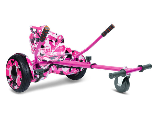 "Pink Vortex Camo Hoverkart Bundle 10"" All Terrain Official Hoverboard - Official Hoverboard"