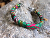 Recycled Polyester Woven Fabric Bracelet