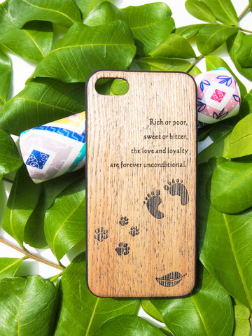 100% Natural and genuine Wood Phone Case