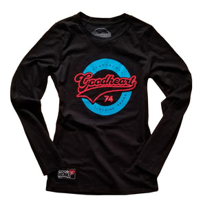 Goodheart Women's Big League Long Sleeve Logo T-Shirt
