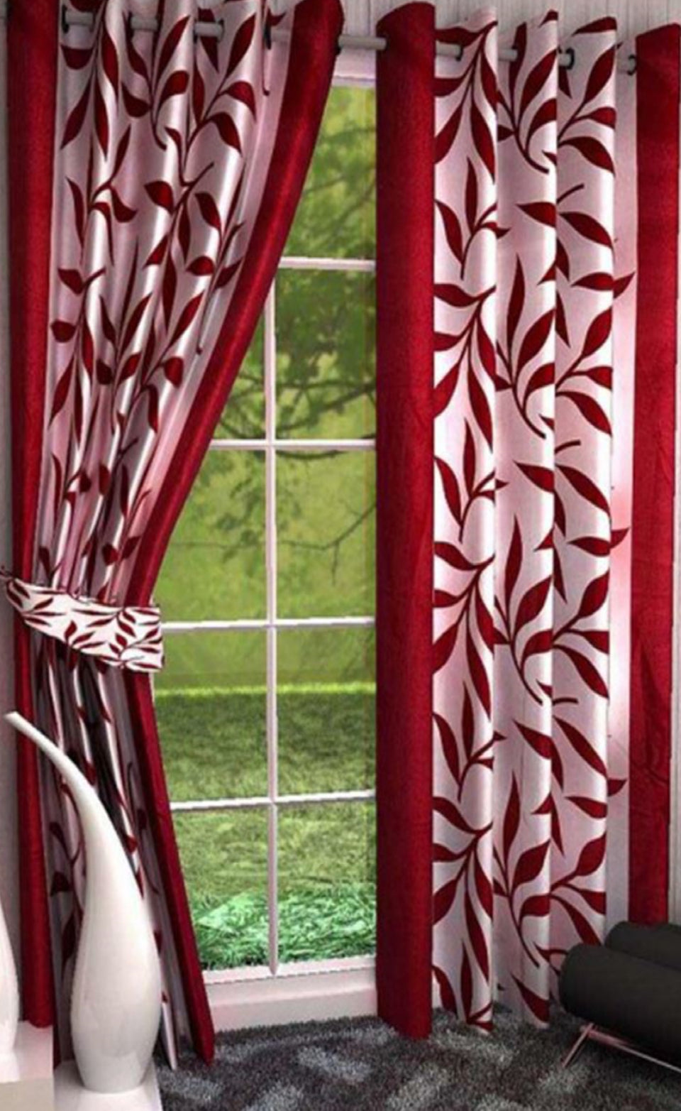 PRINTED DOOR CURTAINS - BABBALBUY