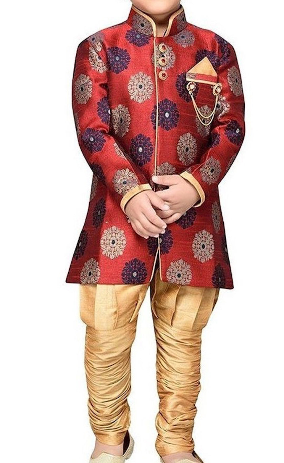BLENDS MOTI BOYS SHERWANI - BABBALBUY