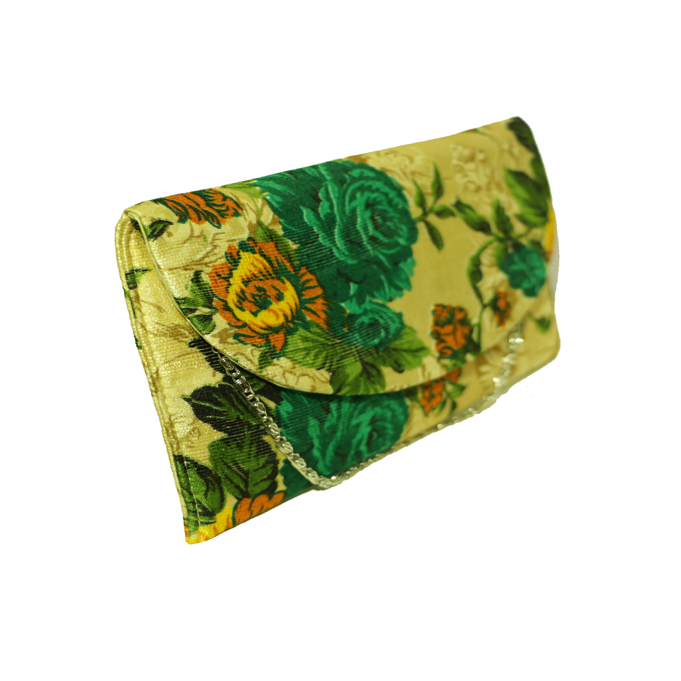 HANDMADE CLUTCHES WITH PRINTED FABRIC - BABBALBUY