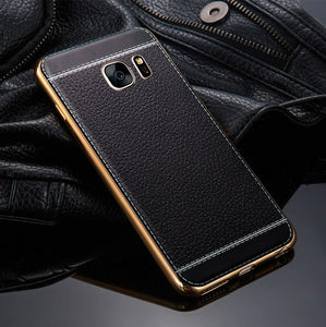 Luxury Leather Phone Cases For Samsung