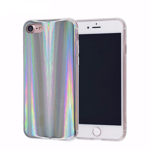 Laser Rainbow Phone Cases For iPhone