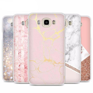 Pink Marble Phone Cases for Samsung