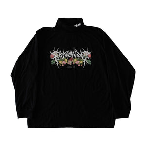 "Black ""Death Metal"" Turtleneck"
